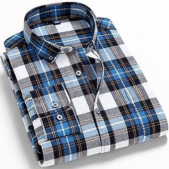 Flanelli paidat Single Pocket