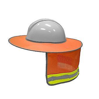 Sunshade Ulkorakennus Turvallisuus Kova hattu /aurinkovarjo ja kaulasuojus
