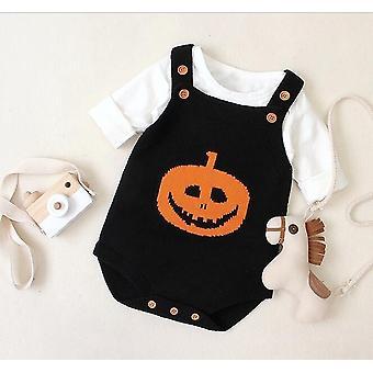 Новорожденный ребенок вязание Одежды Хэллоуин