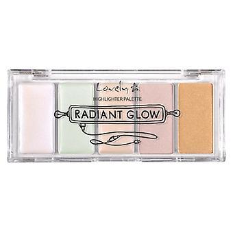 Lovely Highlighter Palette Radiant Glow