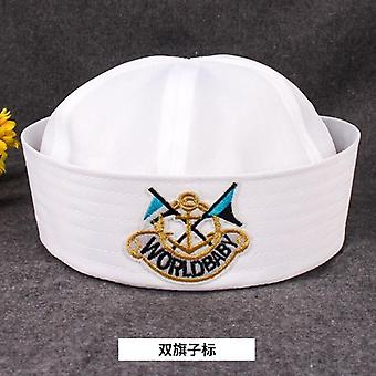 Military Hats For Adult, Sailors, Captain, Navy Marine Cap, Anchor Sea Boating,