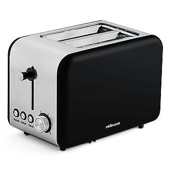 Mellerware Toaster av Pan Crispy! Svart