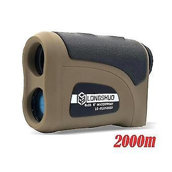 Laser rangefinder hunting distance meter 800-2000m hunting telescope binoculars rangefinder