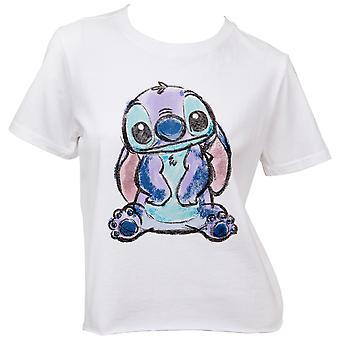 Disneys Lilo och Stitch's Stitch Karaktär Kvinnors T-Shirt