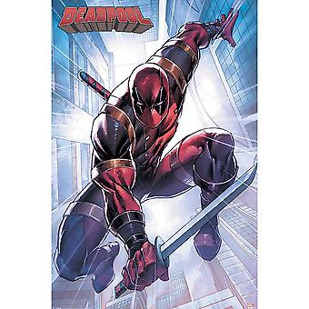 Deadpool Action Pose Poster