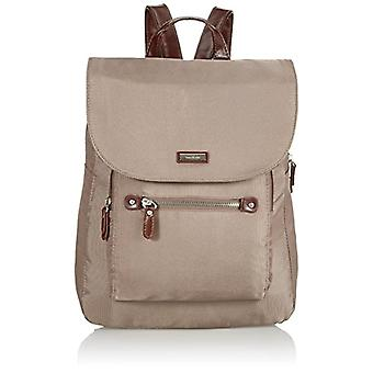 Tom Tailor Acc - Rina, Women's Backpack Bag, Grey (taupe 21), 28x33x12 cm (B x H x T)