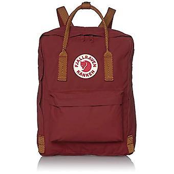 Fjallraven K nken Backpack, Unisex Adult, Ox Red-Goose Eye, One Size