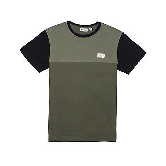 Rhythm Commune Short Sleeve T-Shirt in Olive