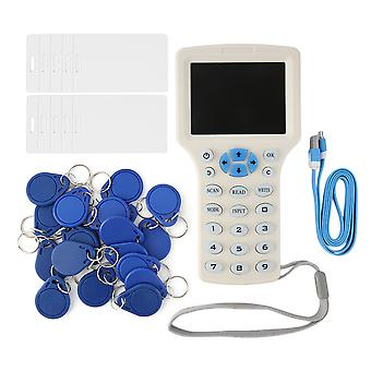 Super Full-featured Rfid Copier Id/ic Card Reader/writer+10 Cards+20 Tags