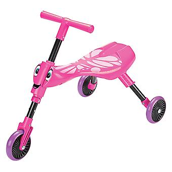 Scuttlebug Butterfly Pink Ride On