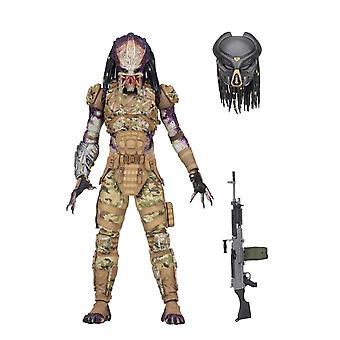 Predator ultimate utsending # 1 POSEABLE figur fra Predator 2018