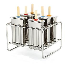 Stainless Steel Ice Lolly Stick Maker Molds
