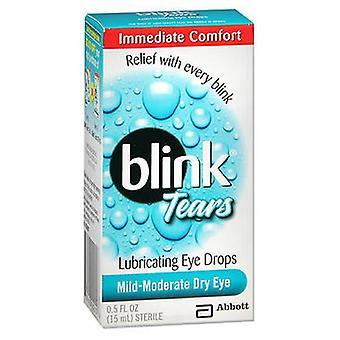 Blink Blink Lubricating Eye Drops For Mild Moderate Dry Eye, 0.5 oz