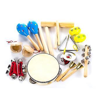 Musical Instrument Perkusyjny Trójkąt Crotales Kastaniety Drum Tambourine