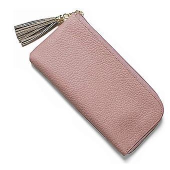 Módní střapec multi-card pozice japonská kožená dámská peněženka