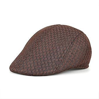 Summer Breathable Sports Golf Hat / Cap & Women(Coffee)