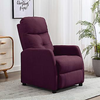 vidaXL Relax tuoli violetti kangas