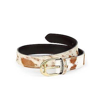 Aubrion Womens/Ladies Cow Print Leather Waist Belt