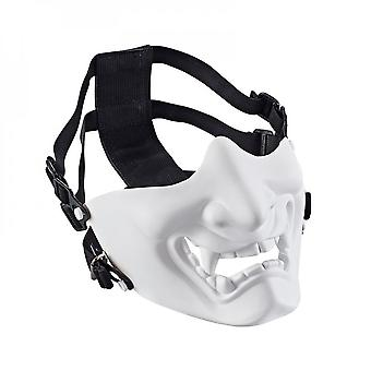 Halloween Supplies Grimace Army Tactical Horror Mask Field Equipment