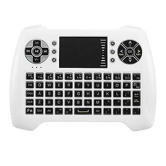 Sungi T16 2.4G Wireless White Mini Keyboard Touchpad Air Mouse