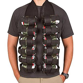 12X flessen holster tactische riem outdoor partij fles vest