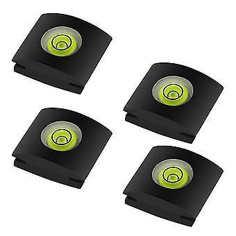 カメラシュープロテクターのための4個/設定バブルスピリットレベル