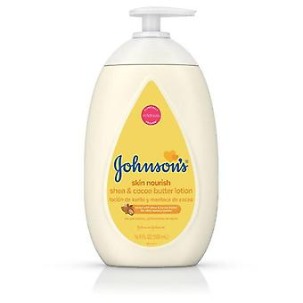 Johnson's Dry Skin Baby Lotion with Shea & Cocoa Butter, 16.9 fl. oz