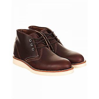 Red Wing 3141 Heritage Work Chukka Boot - Briar Oil Slick