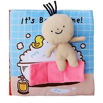 Newborn Baby Reading Book Early Learning Develop Cognize Toys