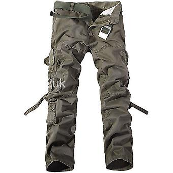 Fashionable Men's Work Pants Military Military Camouflage Combat Multi-pocket Trousers
