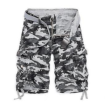 Summer-camouflage Loose Cargo Military Pants Shorts