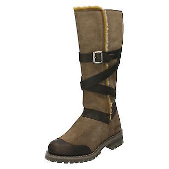 Ladies Caterpillar Calf High Boots Johanna