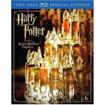 Harry Potter & Halvblodsprinsen [Blu-ray] USA import