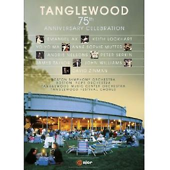 Tanglewood 75th Anniversary Celebration [DVD] USA import