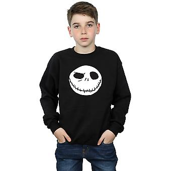 Disney Boys Nightmare Before Christmas Jack's Big Face Sweatshirt
