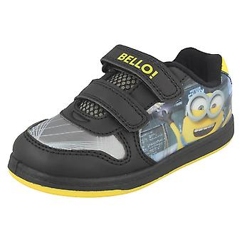Boys Despicable Me Trainers Lab Scene