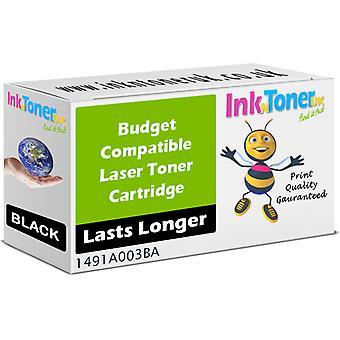 Cartucho de tóner compatible con Canon E30 Negro 1491A003BA para FC120