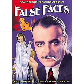 Falska ansikten (1932) [DVD] USA import