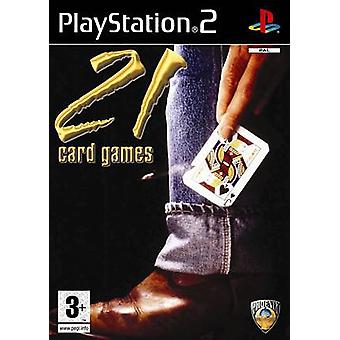 21 Card Games (PS2)-fabriks forseglet