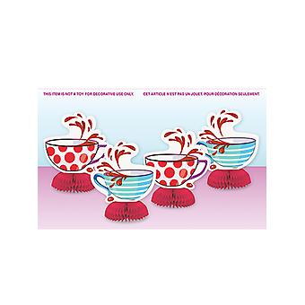 Mad Hatter Tea Party Mini panal decoraciones