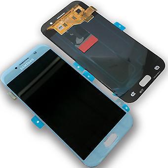Display LCD Komplettset GH97-19732C Blau für Samsung Galaxy A3 A320F 2017