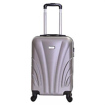 Slimbridge Ferro 55 cm hård kuffert, sølv