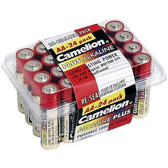 AA battery Alkali-manganese Camelion Plus LR06 2800 mAh 1.5 V 24 pc(s)