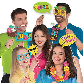 Amscan Hawaiian Luau Photo Booth rekvisitter