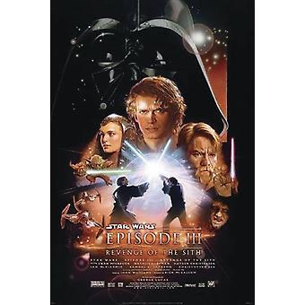 Star Wars Episode III Poster Revenge of the Sith Hauptplakat