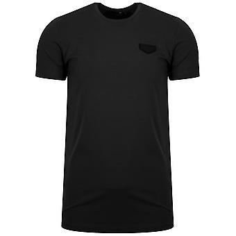Antony Morato Black Patch Logo T-Shirt