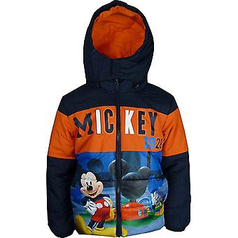 Boys Disney Mickey Mouse Hooded Jacket / Coat