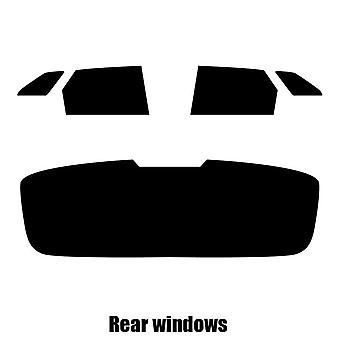 Pre cut window tint - Peugeot 3008 - 2017 and newer - Rear windows