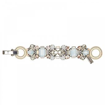 Butterfly Bejewelled Jewel Detail Clasp Braclet
