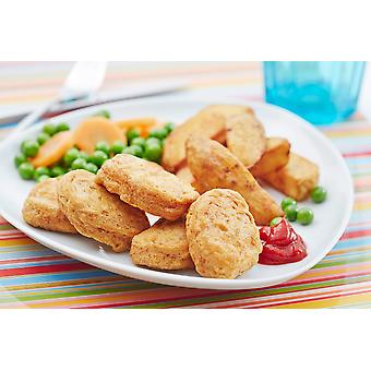 Country Range Frozen Battered Chicken Breast Nuggets 22g